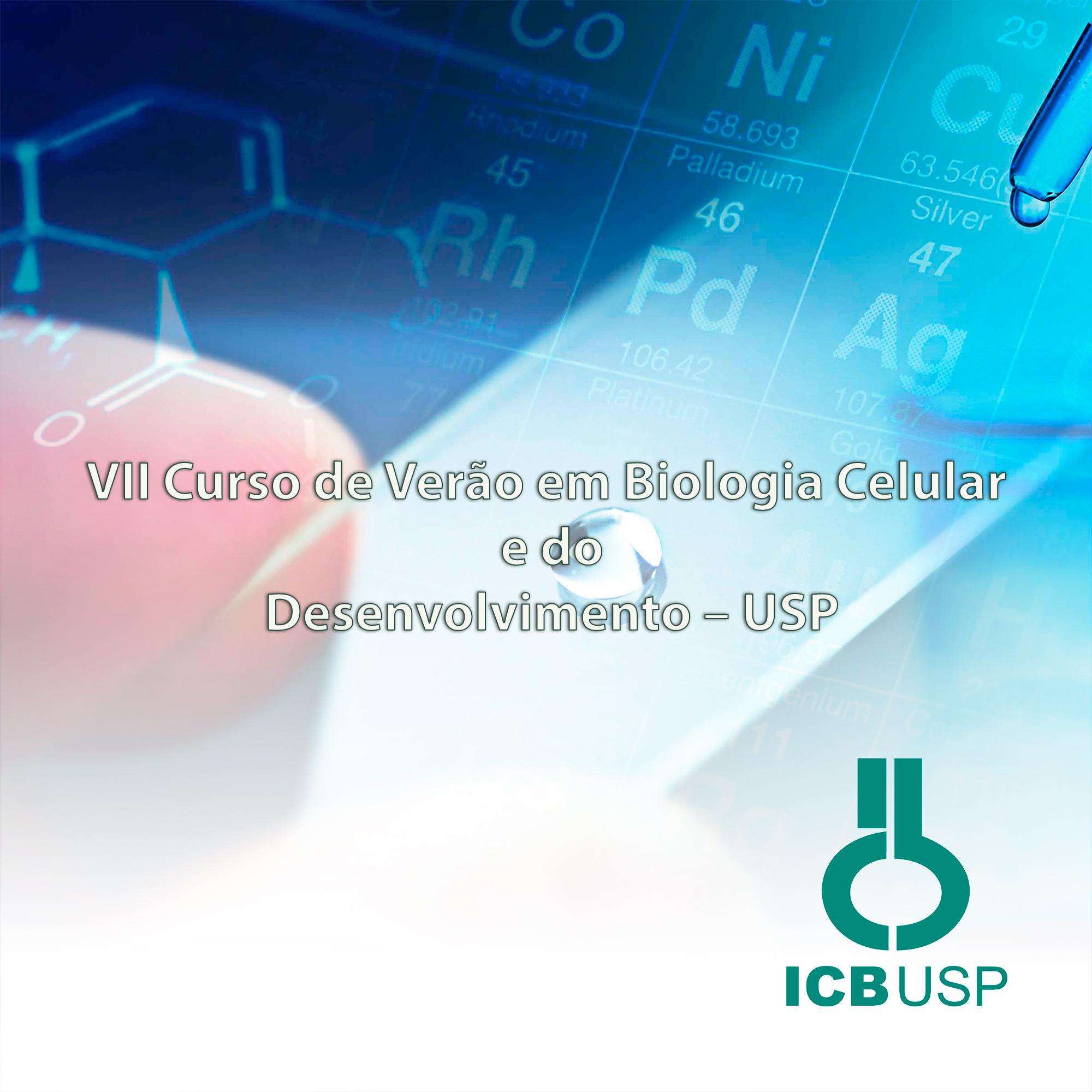VIII Curso de Verão em Biologia Celular e do Desenvolvimento – USP